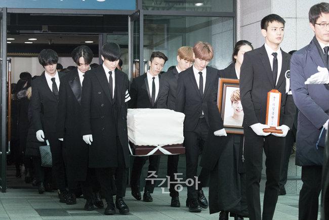 샤이니 종현의 마지막 가는 길