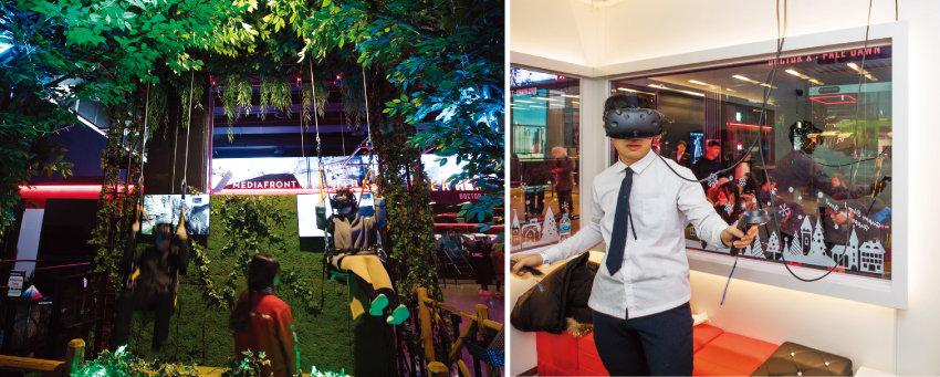 인천 송도의 대규모 VR 테마파크 '몬스터VR