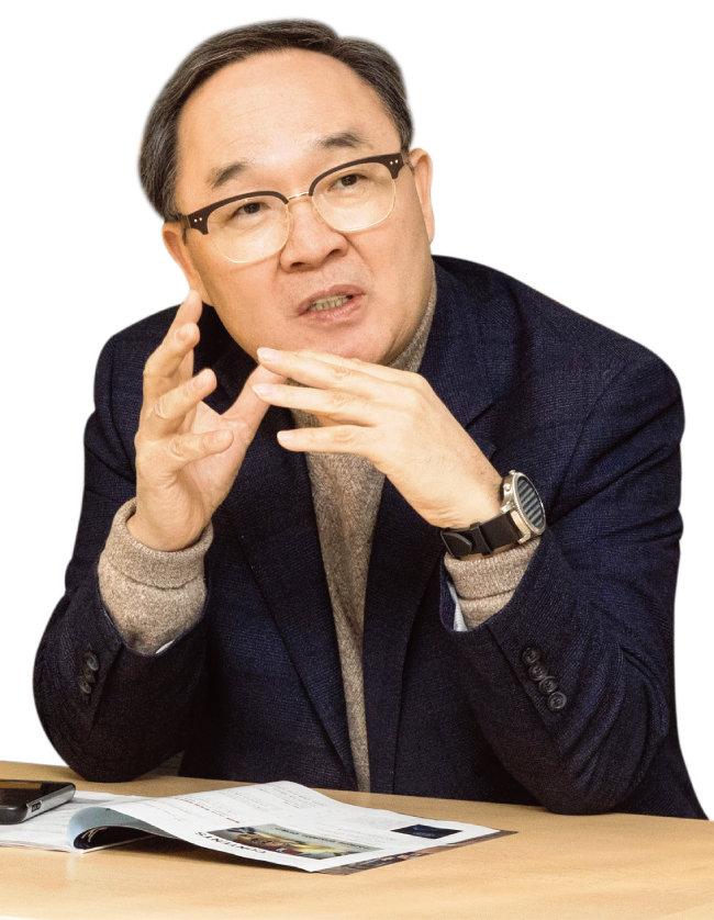 양무진 북한대학원대 교수 [지호영 기자]