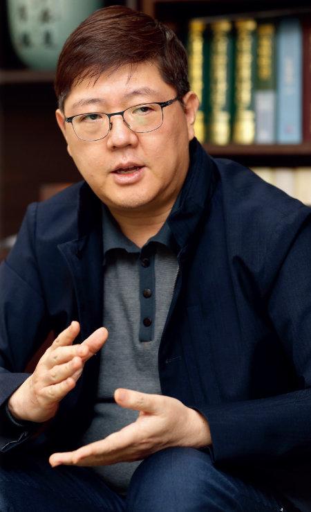 김홍걸 민화협 대표 상임의장. [김형우 기자]
