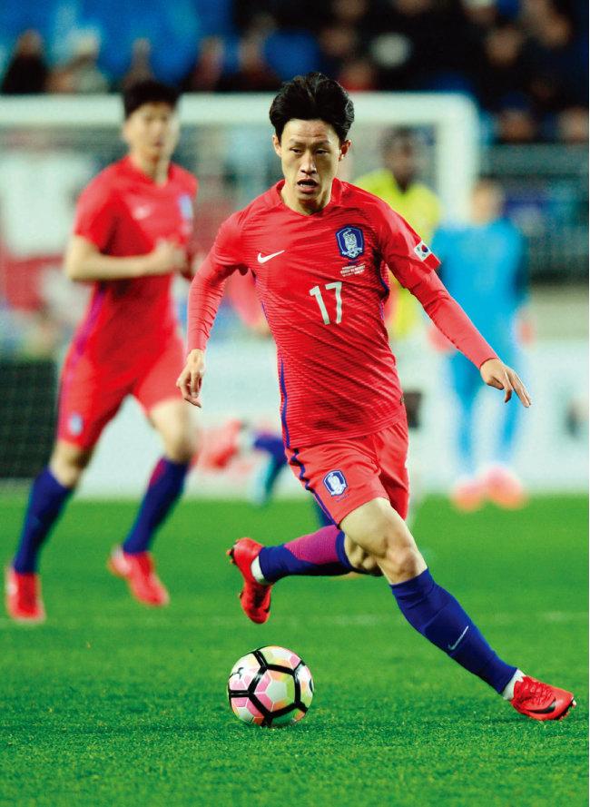 이재성은 최근 축가 국가대표팀에서도 활약하고 있다. [스포츠동아]