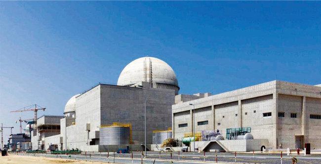한국이 건설 중인 아랍에미리트 바라카 원전. [동아DB]