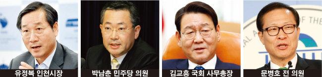 """""""민주당 고공 지지율"""" vs """"유정복 개인기"""""""
