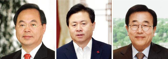 오거돈 전 해양수산부 장관, 김영춘 해양수산부 장관, 서병수 부산시장 [동아DB, 뉴시스]