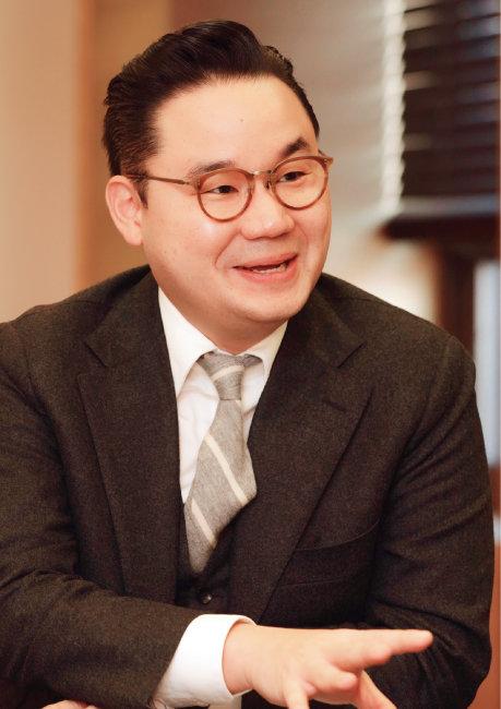 배동현 평창동계패럴림픽 선수단장·창성그룹 대표이사. [박해윤 기자]