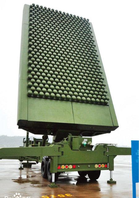 중국 JY-26 극초단파 레이더. [바이두]