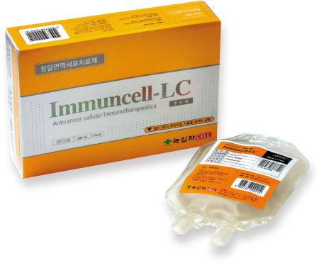 환자의 면역세포를 채혈해 제조하는 GC녹십자셀의 면역세포치료제 '이뮨셀-엘씨'. [사진 제공·GC녹십자셀]