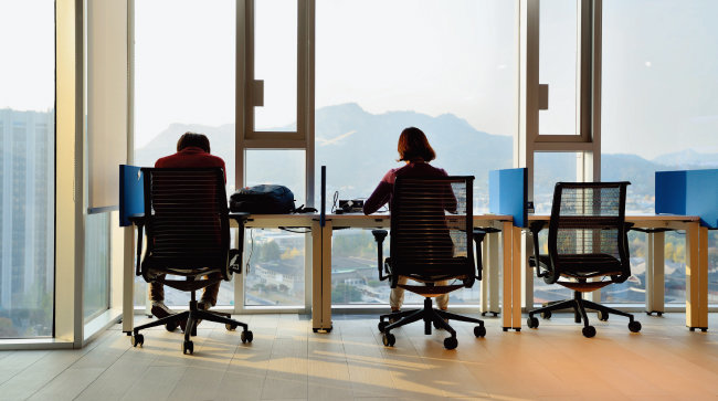 MS는 자율근무제 도입 후 직원들의 근무 만족도는 물론 생산성까지 향상됐다. [동아DB]