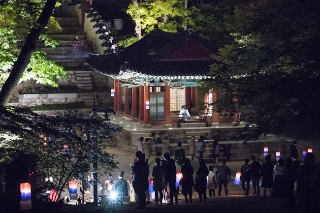 조선시대 과거시험장으로 사용된 영화당.