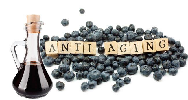 항산화물질이 풍부한 블루베리는 발효 과정을 거쳐 식초로 만들어졌을 때 더욱 빛을 발한다. [shutterstock]