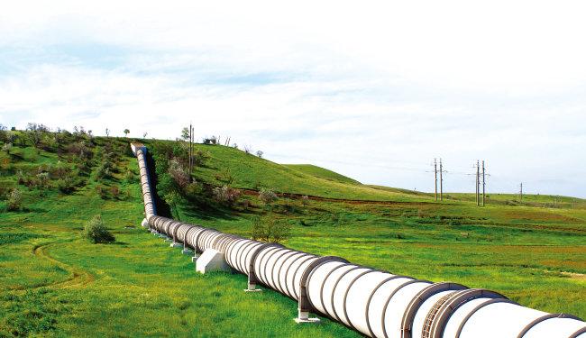 남북한 에너지 네트워크가 구축되면 러시아 천연가스를 훨씬 싼값에 쓸 수 있다. [shutterstock]
