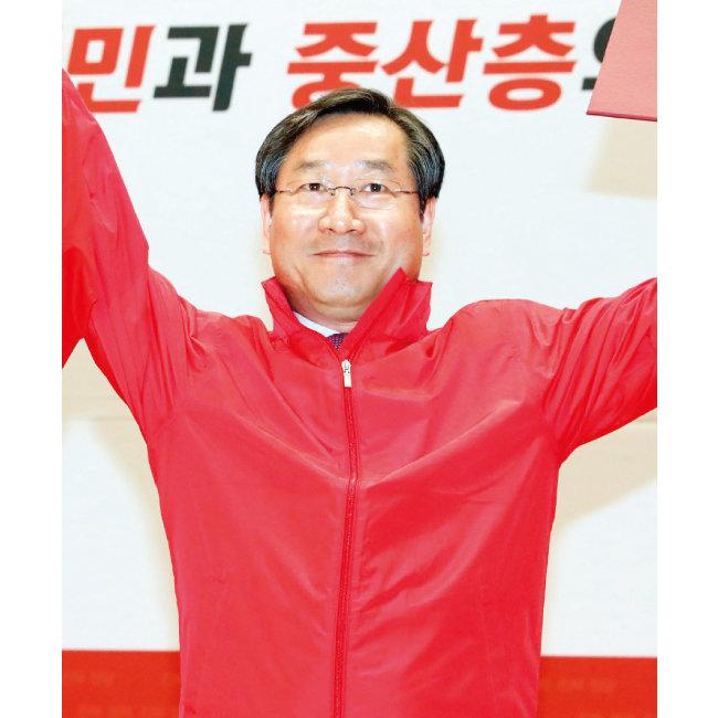 자유한국당 유정복 인천시장 후보. [뉴시스]