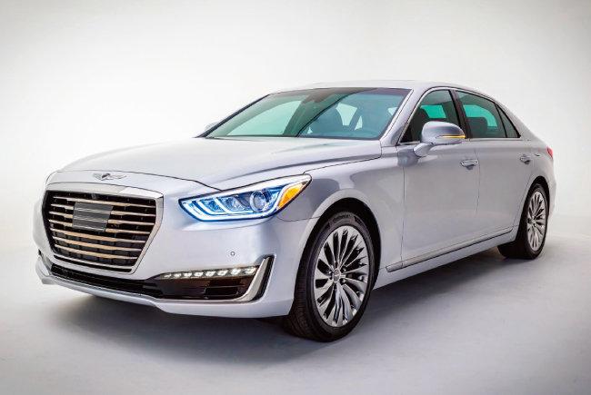 제네시스가 미국 시장조사 전문업체 제이디파워가 발표한 '2018 신차품질조사(IQS)'에서 31개 전체 브랜드 중 1위, 13개 프리미엄 브랜드 중 1위를 차지했다. [사진 제공·현대차]