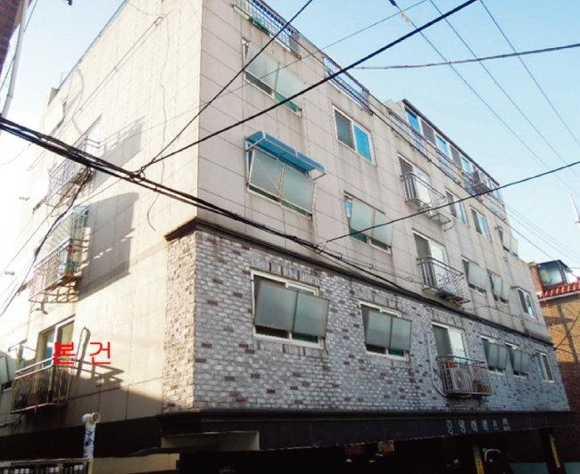 인천 최저 입찰가 1억 원 이하 다세대주택