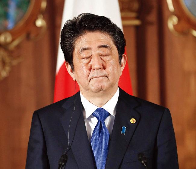 아베 신조 일본 총리. [동아일보]