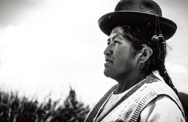 페루 특별전에 소개된 페루 어머니 사진 작품 '그리움'. [사진 제공 · 하나님의 교회 세계복음선교협회]