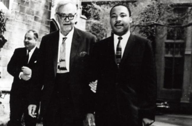 칼 바르트(왼쪽)와 마틴 루터 킹. [칼 바르트 아카이브]