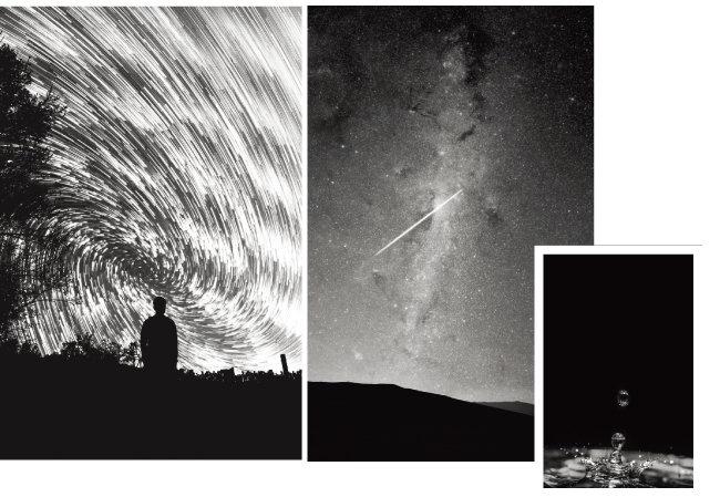 138억 년 전 빅뱅이 일어나 시공간이 생겨나고 다시 38만 년이 지나 수소와 헬륨 같은 원자가 생기면서 빛이 탄생한다. 그와 더불어 만물이 진동하기 시작한다. [사진 제공 · 동아시아]