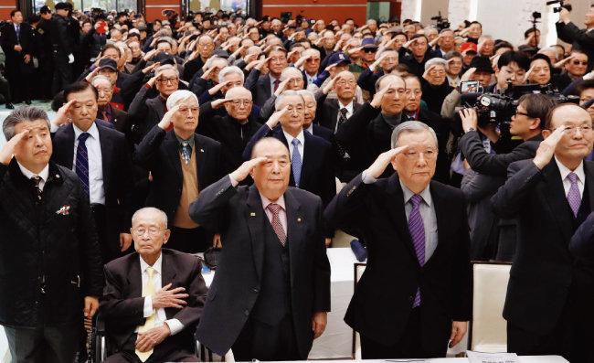 11월 21일 '안보를 걱정하는 예비역 장성 모임' 주최로 열린 9·19 군사합의 국민 대토론회. [뉴스1]