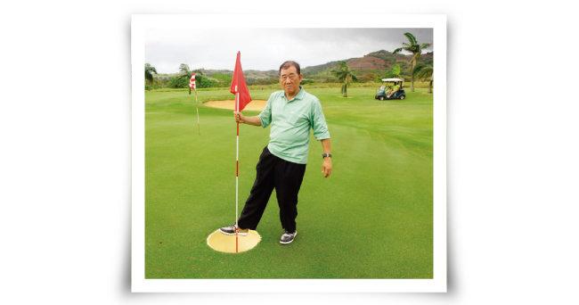 모리셔스 헤리티지 골프클럽은 골퍼들의 흥미를 돋우고자 홀컵 크기를 15~50인치로 늘렸다. [사진 제공 · 김맹녕]