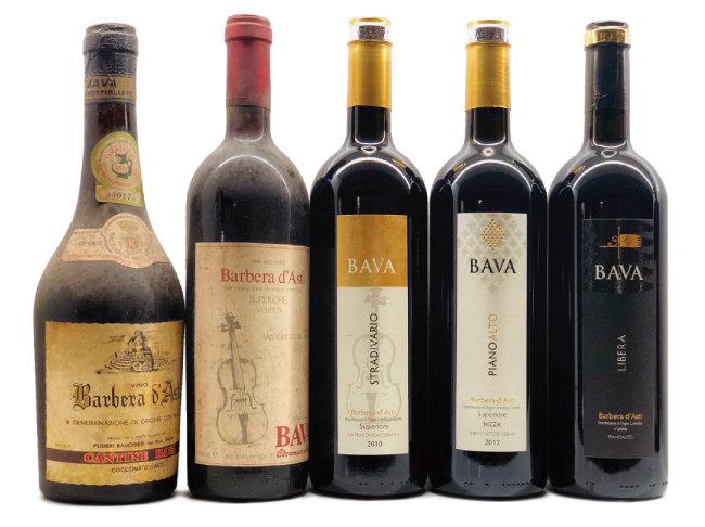 바바의 과거 와인과 요즘 와인들.[사진 제공 · 김상미]