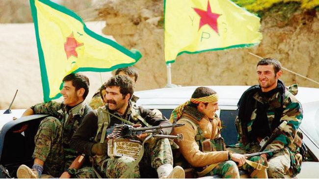 시리아 쿠르드족 민병대인 인민수비대(YPG) 대원들의 모습. [kurdistan24]