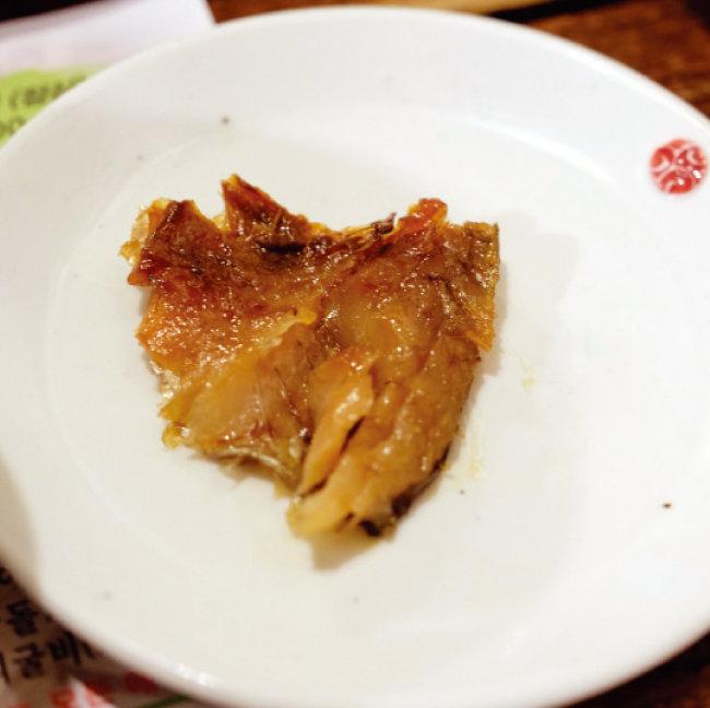 부세로 만든 보리굴비. 살이 통통해 먹을 것이 많고 풍미도 좋다. [사진 제공·김민경]
