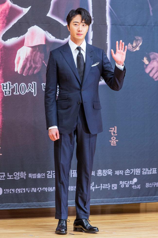 2월 11일 서울 목동 SBS 사옥에서 열린 SBS 월화드라마 '해치' 제작발표회에 참석한 배우 정일우. / 김도균 기자