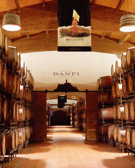 반피 와이너리의 와인 숙성실. [사진 제공 · 김상미]