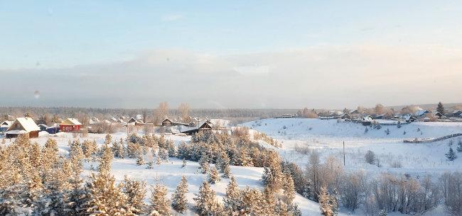 비좁은 객차에서 맛본 시베리아의 광활한 행복