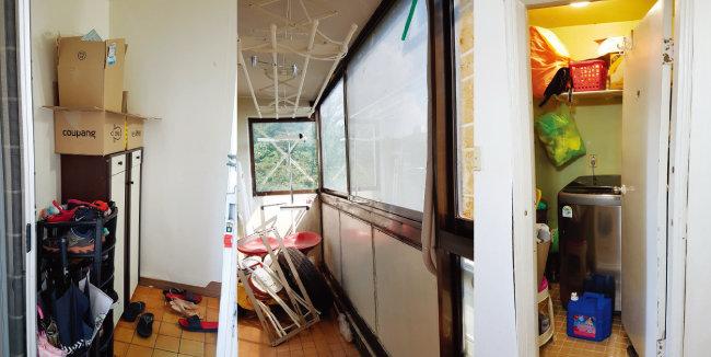 막퍼줘 2호집의 공사 전현관, 발코니, 다용도실 [사진 제공 · 남경엽]