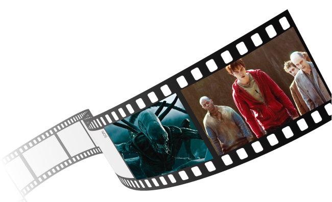 라멜라에 해당하는 영화 속 존재들. '에일리언' 시리즈의 괴기한 우주생명체 에일리언(왼쪽)과 영화 '웜 바디스' 속 좀비들. [IMDB]