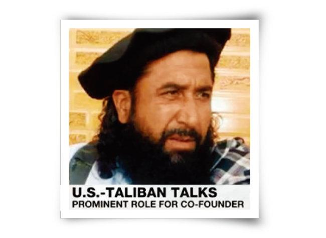 카타르 도하 현지에서 평화협상 진두지휘에 나선 것으로 알려진 탈레반의 2인자 물라 압둘 가니 바라다르. [알자지라 화면 캡처]
