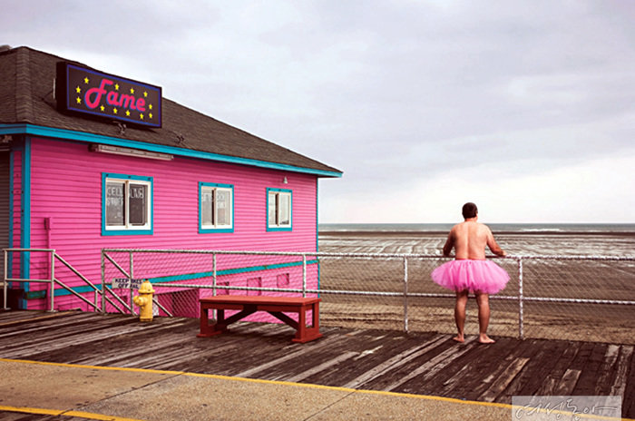 Bob Carey, Fame. Wildwood. New Jersey, 2016, digital archival print