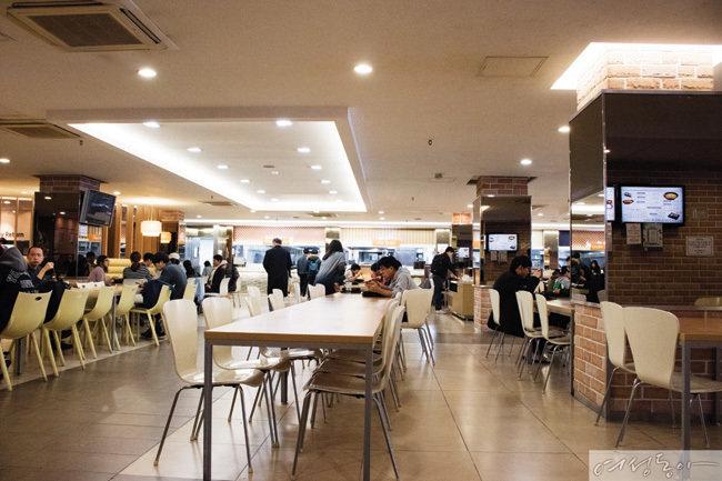 미순랭 가이드 THE MICHUNLIN GUIDE 구내식당