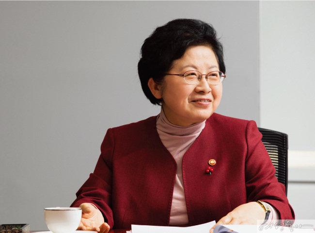 정현백 여성가족부 장관
