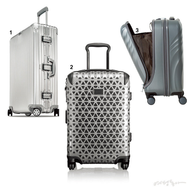 여행 가방이 하드캐리