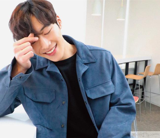 2018년의 배우 우도환