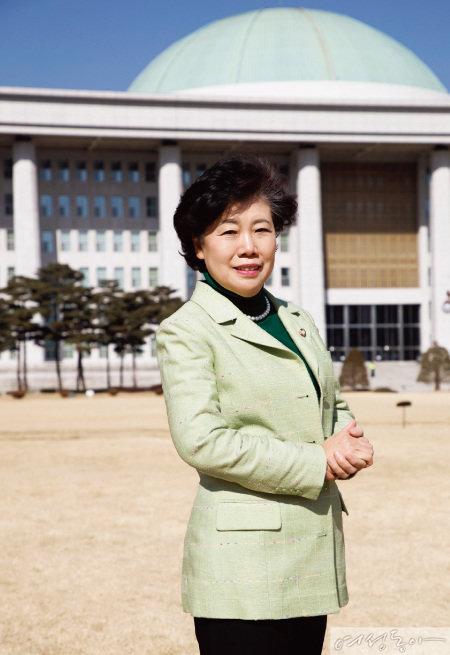조배숙 민주평화당 초대 당 대표