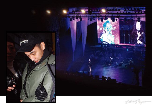 콘서트에서 만난 백지영