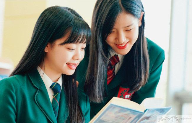 브랭섬홀 아시아 학생들이