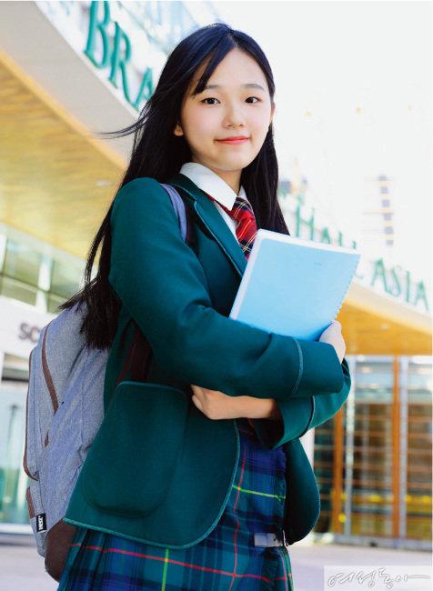 브랭섬홀 아시아 12학년 김승유 학생.