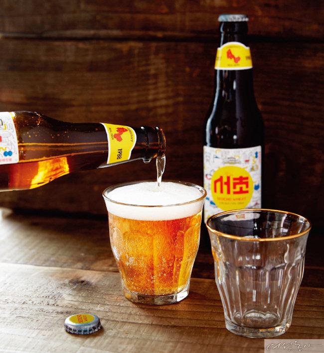 마트에서 산 수제 맥주