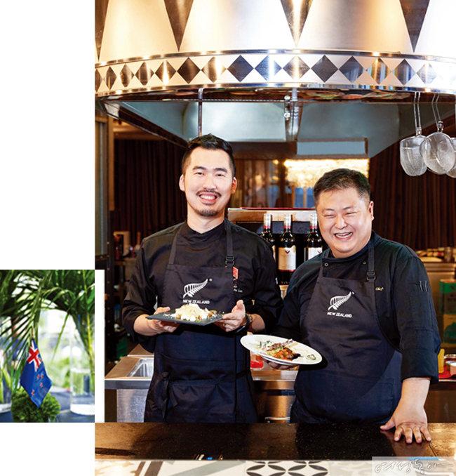 스타 셰프들과 100인의 테스터, 뉴질랜드 청정 식재료를 선택하다