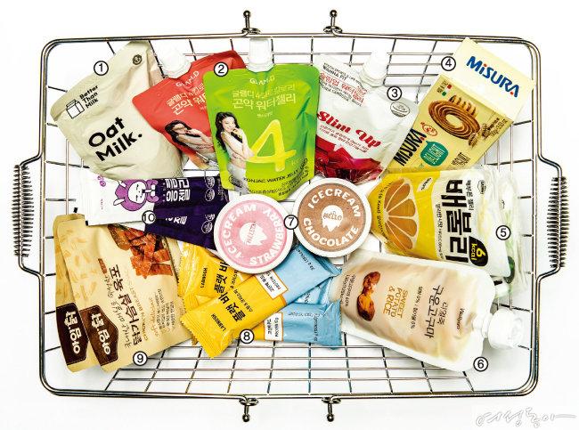 다이어터의 20가지 간식 먹을 권리