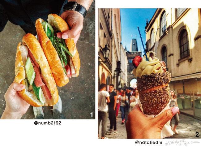자유여행의 맛, 스트리트 푸드의 추억