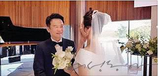 남경필 전 지사가 페이스북에 올린 결혼식 사진.