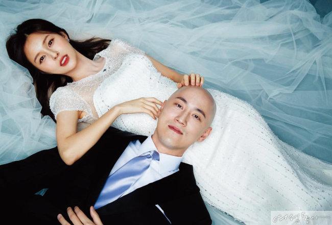 결혼도 패션, 두산가 박서원· 조수애 아나운서