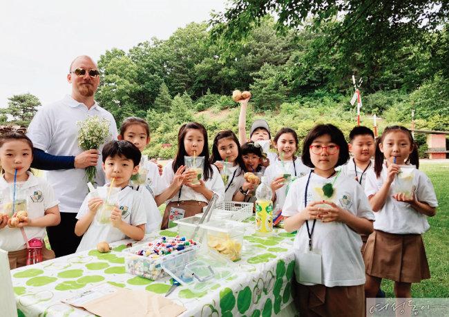 주말마다 가는 자연주의 국제학교 프로그램, 에더블