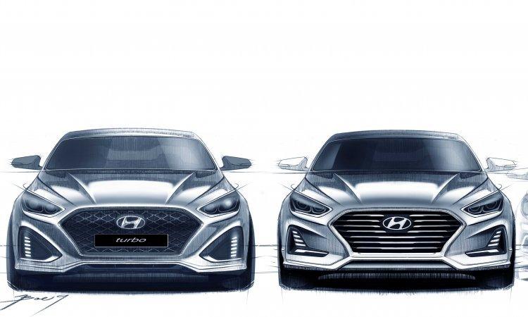 현대차, 쏘나타 페이스리프트 렌더링 공개…내달 출시